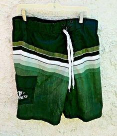 Mens Captain Anchor 1989 Swim Trunks Beach Board Shorts