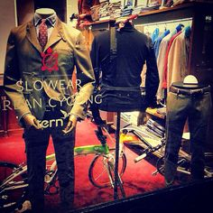 Slowear Urban Cycling collaboration with TERN BIKE.  The Slowear Store Treviso