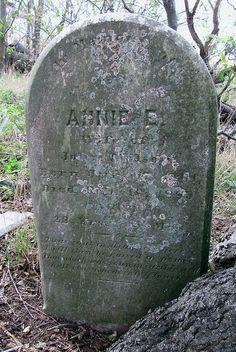 Annie Wilson, Mother of Effie Annie Wilson, Cemetery Headstones, Chesapeake Bay