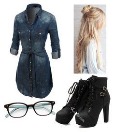 """Untitled #161"" by ravenouswild on Polyvore featuring LE3NO and Kate Spade"