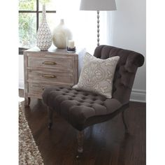 Dauphine Accent Chair - Rustic Glamour on Joss & Main