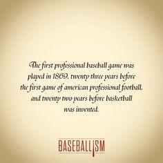 Beginning of sports we love..