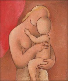 Mikuláš Galanda: Matka s dieťaťom:1924 - 1944
