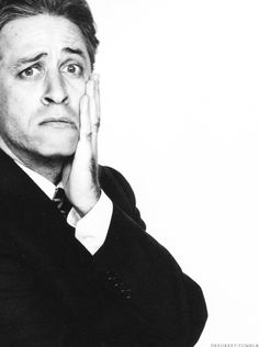 Jon Stewart by Richard Avedon, 2004 Smart and handsome.