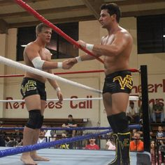 Marshall and Ross are the sons of the living Kevin Von Erich and the highlight of their in-ring careers came at TNA Slammiversary 2014 in Texas. Description from thesportster.com. I searched for this on bing.com/images