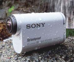 AS100V Action Cam med Wi-Fi og GPS fra Sony. Om denne nettbutikken: http://nettbutikknytt.no/sony/
