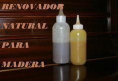 RENOVADOR CASERO PARA  MADERA. Renovator for wood. Home