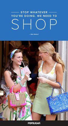 Blair Waldorf Gossip Girl Fashion Quotes | POPSUGAR Fashion