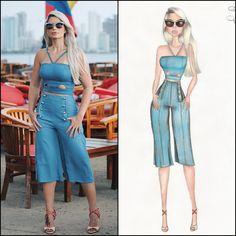 Fashion Games, Fashion Art, Fashion Models, Fashion Design, Fashion Painting, Fashion Sketches, Stylists, Jumpsuit, Celebs