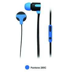 Naxa Astra Isolation Stereo Earphones - Blue, Headphones & Headsets