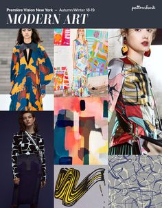 Première Vision New York - Autumn/Winter 18/19 Print & Pattern Trend Round Up | Patternbank