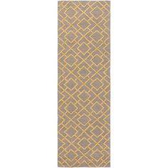 "Surya Gable 2'6"" x 8' Cotton Runner Rug - http://home-garden.goshoppins.com/rugs-carpets/surya-gable-26-x-8-cotton-runner-rug/"