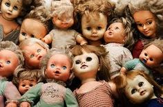 Image result for creepy collections