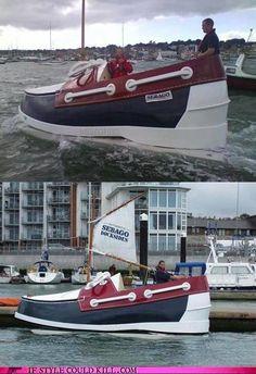 Boat shoe LOL