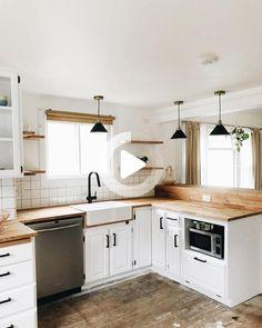 10+ Küchen Umbau-Ideen  küche umbauen, bauernhaus küche, moderne