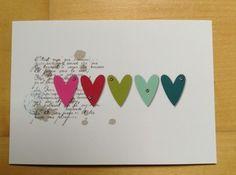 Stampin up Postkarte Grußkarte Karte Stanzteile Kein Sizzix Weihnachten Hochzeit | eBay