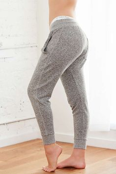 Slide View: 6: Out From Under Don't Wait Cozy Fleece Jogger Pant