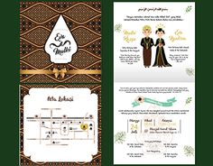"Check out new work on my portfolio: ""Traditional Javanese Wedding… Traditional Wedding Invitations, Creative Wedding Invitations, Diy Invitations, Wedding Invitation Wording, Invitation Cards, Wedding Paper, Wedding Cards, Floral Wedding, Javanese Wedding"