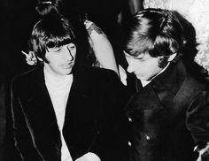 Ringo Starr y Roman Polanski en Cannes.