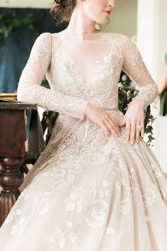 Tales of Old Inspiration Shoot Stunning Wedding Dresses, Princess Wedding Dresses, Wedding Dress Styles, Dream Wedding Dresses, Bridal Dresses, Wedding Gowns, Modest Wedding, Old Fashioned Wedding, Long Sleeve Wedding