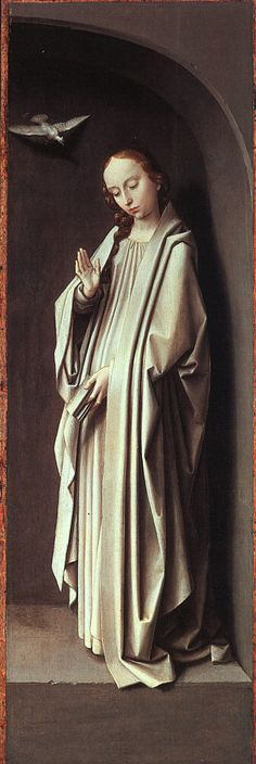 Gérard David | The Virgin Annunciate, 1500, Metropolitan Museum Of Art, NYC