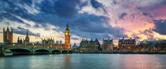 Panoramic View Of Big Ben In London At Sunset Stock Photo - Image of dial, government: 55969680 Sunrise Images, Panorama City, Big Ben London, Most Beautiful Wallpaper, Great Backgrounds, Sunset Pictures, London City, Background Images, Paris Skyline