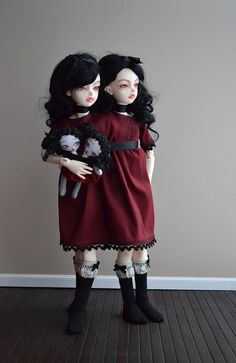 The twins got the doll they've been waiting for... by atomic-kitteh, via Flickr