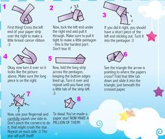 Lucky Paper Stars: How To Make Lucky Paper Stars