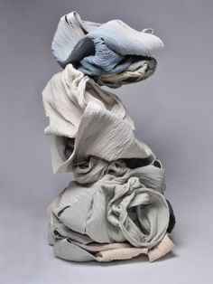 Available for sale from Heather Gaudio Fine Art, Cheryl Ann Thomas, Perch Hand-coiled porcelain ceramic, 38 × 20 × 20 in Porcelain Ceramics, Ceramic Pottery, Contemporary Ceramics, Contemporary Art, Modern Art, Waste Art, Sculpture Lessons, Art Sculptures, Pottery Sculpture