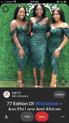 Printed Bridesmaid Dresses, African Bridesmaid Dresses, Bridesmaid Dresses Online, Bridesmaid Dress Styles, African Dresses For Women, African Fashion Dresses, Wedding Bridesmaids, Lace Dress Styles, Lace Dresses