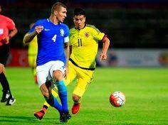 Blog Esportivo do Suíço:  Colômbia vence, e Brasil perde invencibilidade no Sul-Americano Sub-20
