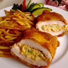 Mustáros-sajtos csípős töltött sertésborda Recept képpel - Mindmegette.hu - Receptek