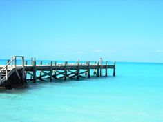 Tarpum Bay Pier on Eleuthera Island by Laurie Buchanan