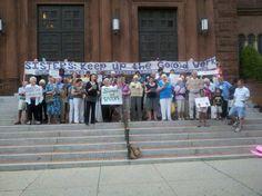 #NunJustice vigil in Washington, DC 8/7/12