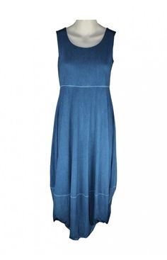 NAYA BLUE TYE DYE JERSEY DRESS