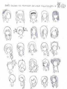 cool Anime Hairstyles by xDaixChibix on deviantART