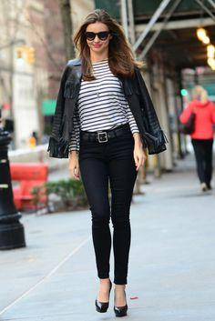 Take a look at Miranda Kerr's Street Style http://uk.bazaar.com/1mcutEx