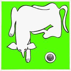 Sobre el piso verde y chato : autor: Ramiro Quesada dimensiones 15.08 cm. por 15.08 cm técnica: tinta | quesadaramiro