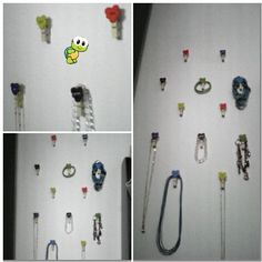 I glued the clip on my wall...and it became my jewelry handler;-)