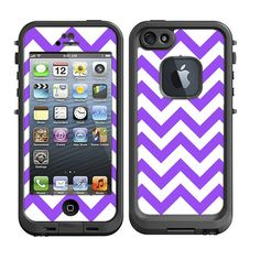 Skins+FOR+the+Lifeproof+iPhone+5+Case++Chevron+Purple+by+ItsASkin,+$9.95