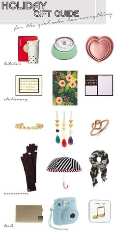 Something About That   Holiday Gift Guide (for the girl who has everything)   http://somethingaboutthat.com