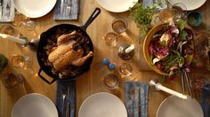 How to Make Roast Chicken in a Skillet | Bon Appetit