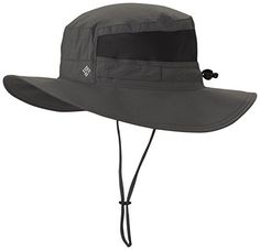 Columbia Men's Bora Bora Booney II Sun Hat, Grill, One Size. For product info go to:  https://all4hiking.com/products/columbia-mens-bora-bora-booney-ii-sun-hat-grill-one-size/