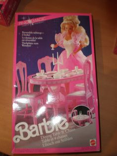 1991 Pink Magic Dining Table & Chairs Set