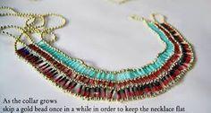 Resultado de imagen para beads necklace DIY