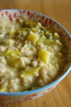 Gourmandises et Merveilles: Brotchen Foltchep (soupe de poireaux aux flocons d'avoine irlandaise)