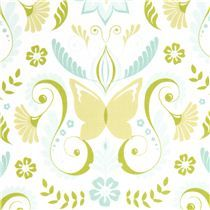 Michael Miller fabric butterfly by Patty Sloniger