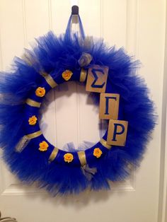 Sigma Gamma Rho wreath
