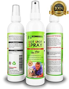Vet Recommended - Hot Spot Treatment For Dogs - Relieves Dog Dry Skin - Antifungal Spray for Treatment - Use For Allergy Treatment. Hot Spots for Dogs By Using Our Safe Dog Anti Itch Spray (8oz/240ml) ^^ You can get additional details, click the image : Dog supplies for health