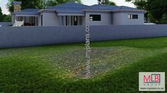 1_17 Double Garage, Bedroom House Plans, Open Plan Living, Living Area, My House, Houses, How To Plan, Double Carport, Homes